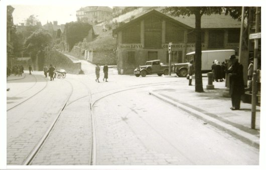 Lausanne place du Tunnel 1942