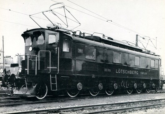 Locomotive BLS Be 6/8