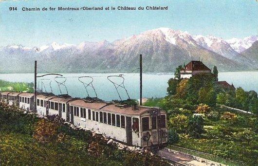 MOB Château du Châtelard 1909