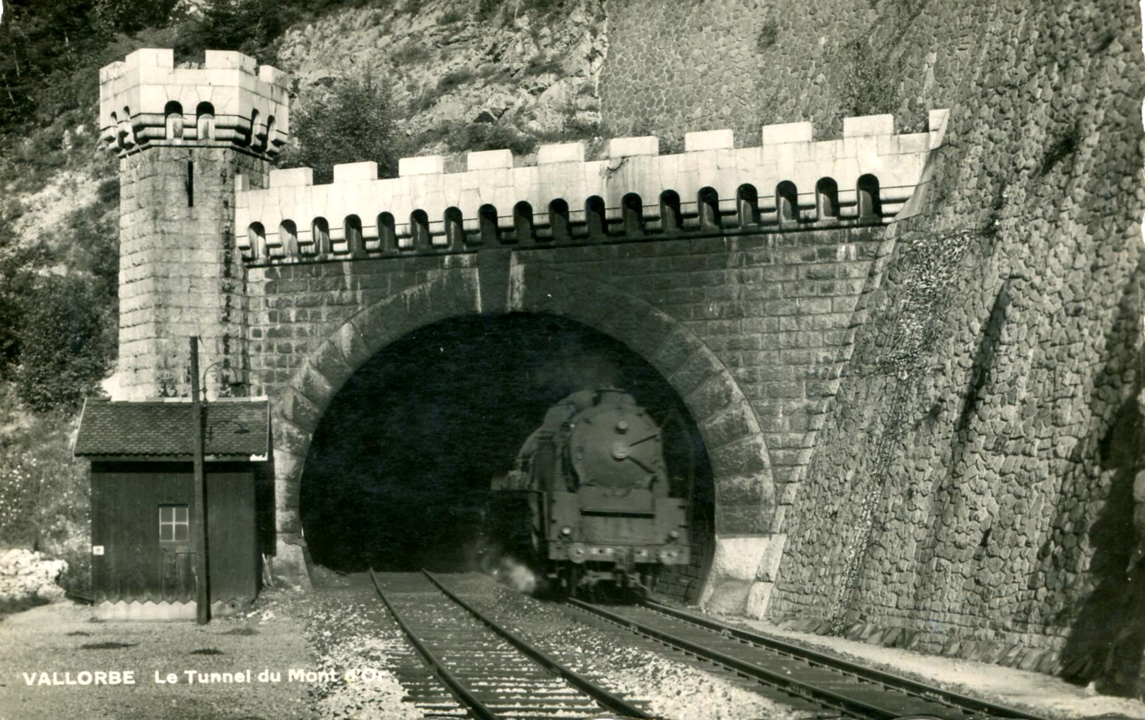 Le tunnel du Mont-d'Or