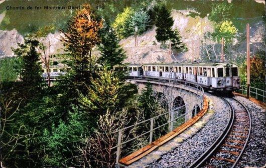 MOB Viaduc des Chenaux 1906