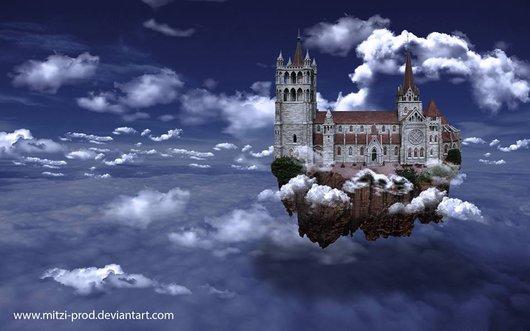 Cathédrale de Lausanne par un artiste
