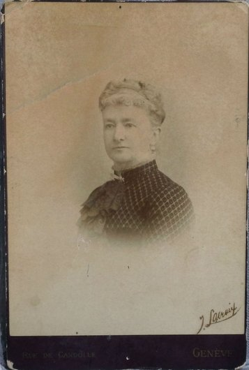 Rosalie Isabelle Emma Bourgeois-Roguin 1807-1875 Giez