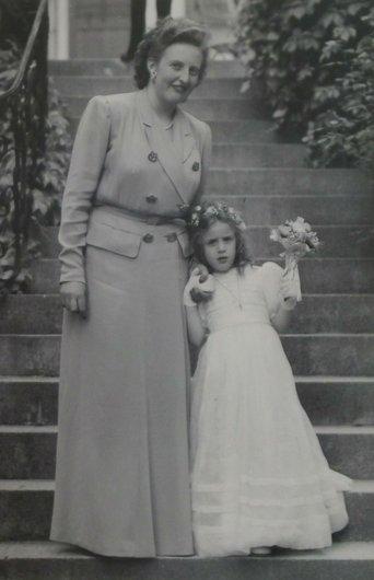 Nicole de Muller Verene de Weck 1947