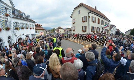 Concert de Cor des Alpes à Lignières