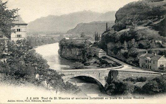 St-Maurice, l'ancien pont