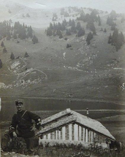 Le sergent major à Bretaye 1921