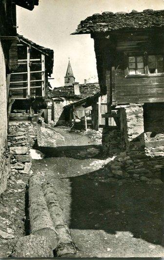 Vercorin, chemin de l'église