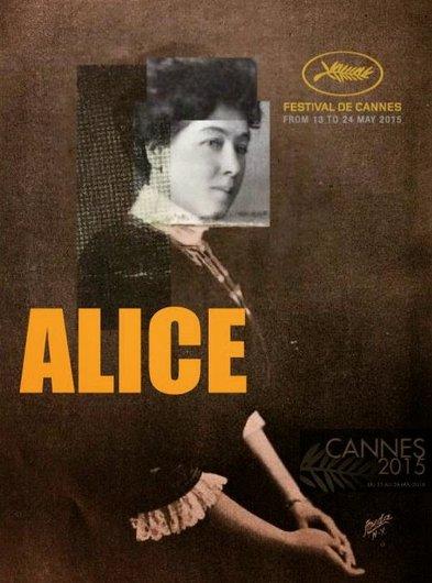 Alice Guy à Canne affiche