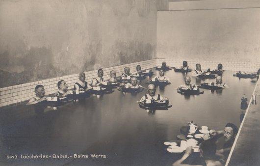 Loèche-les-Bains, bains Werra