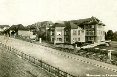 Maternité de Lausanne, historique