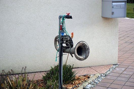 Entrée en trompette
