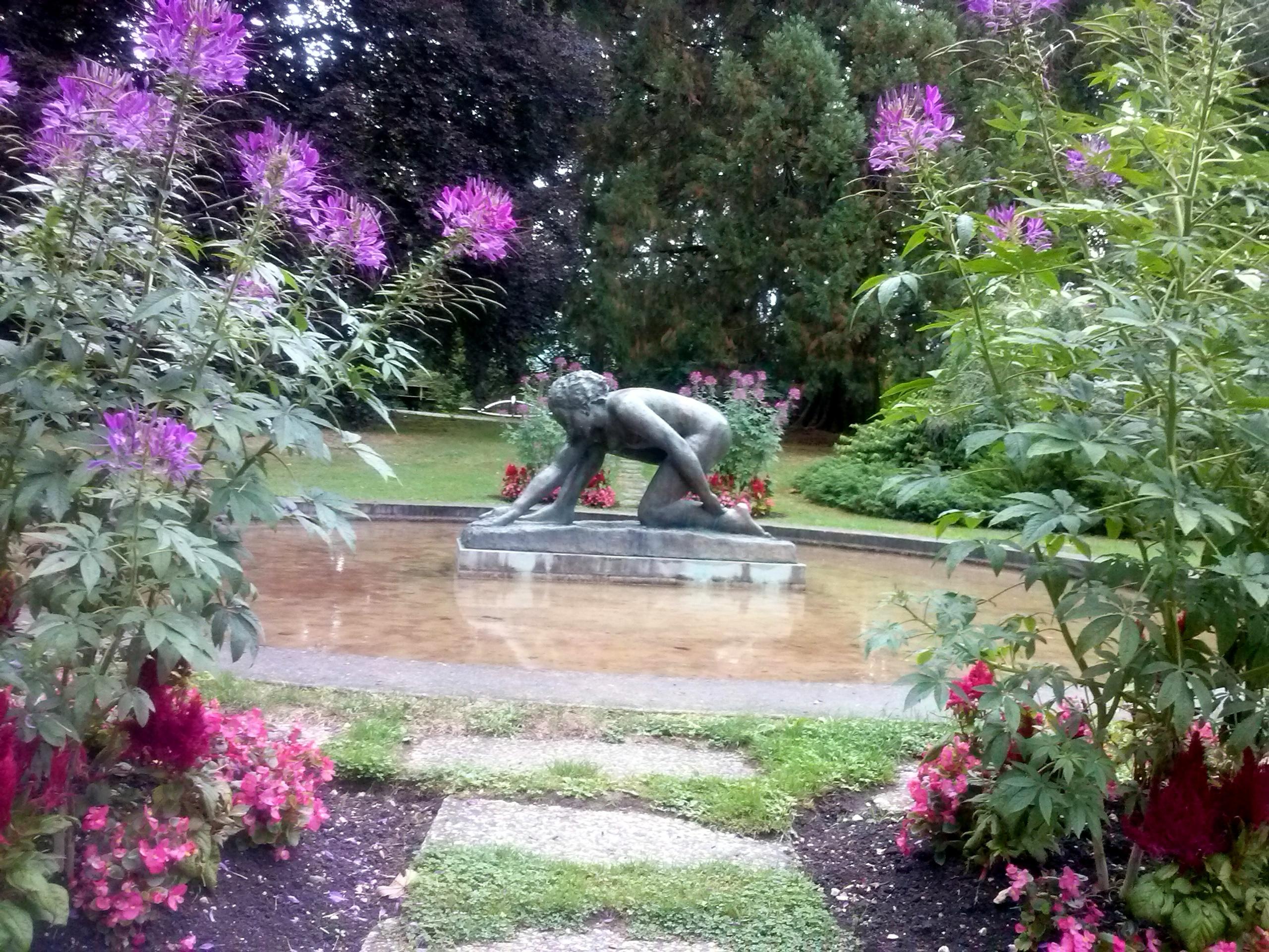 La baigneuse du Parc Gallet au fil des saisons_648