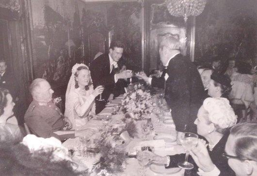 Henri von der Weid Genevieve Bourgeois Bernard de Muller 1947