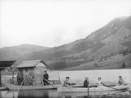 Barques sur le Lac Noir