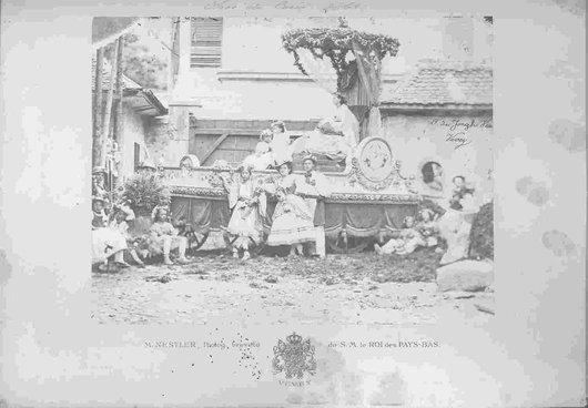 Fête des vignerons 1865 char Ceres