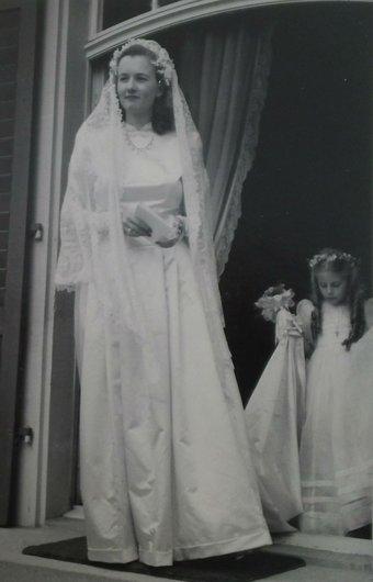 Genevieve Bourgeois Catherine de Weck 1947