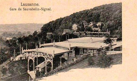 Gare de Sauvabelin