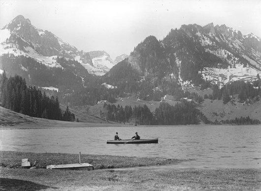Barque sur le Lac Noir