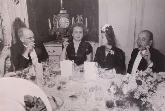 Thierry de Boccard Helen de Hesselle Beatrice von der Weid 1947