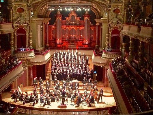 Concert au Victoria Hall