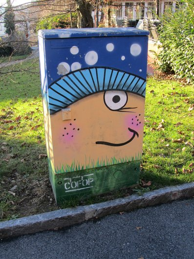 Graffiti caisson Urbatel
