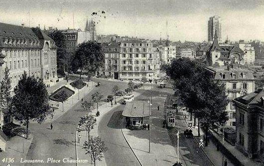 Lausanne autrefois.