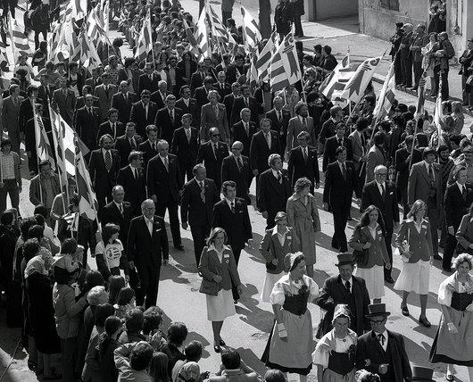 Assemblée constituante jurassienne, le 12 avril 1976 à Delémont