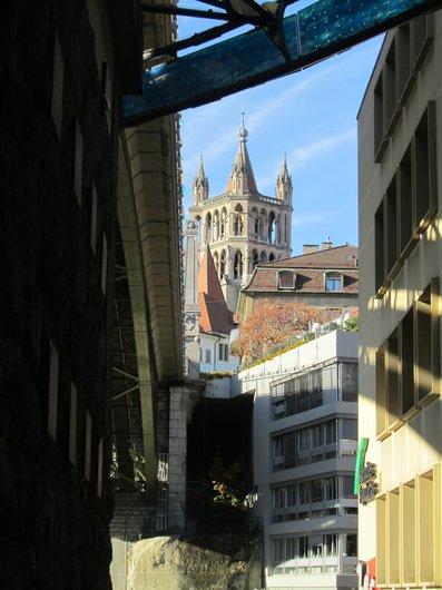 Lausanne Sous le Pont Bessières
