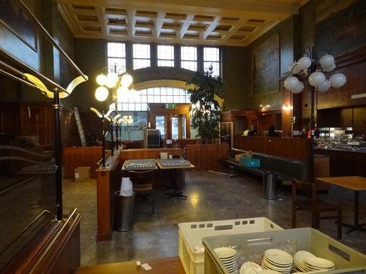 Fermeture pour travaux du Buffet de la Gare de Lausanne