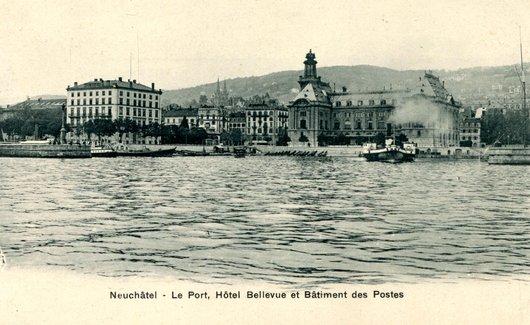 Neuchâtel, le port