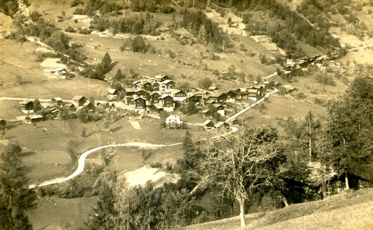 Le village de Mayoux