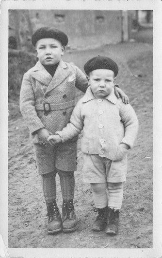 Les deux frères Zufferey de l'ancienne cure