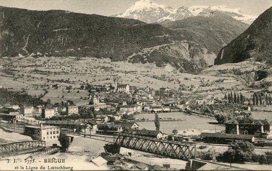 Brigue, ponts sur le Rhône