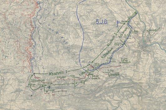 Karte Mülhausen - Copie partielle