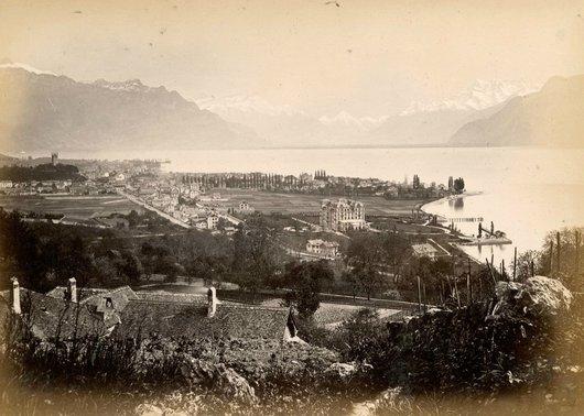 Vevey Lac Leman Dent du Midi