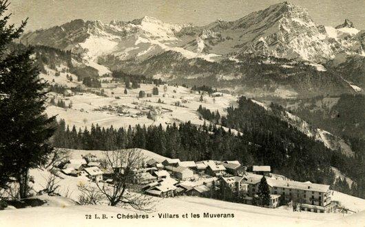 Chésières - Villars, les Muverans