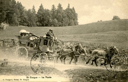 St-Cergue, la diligence postale