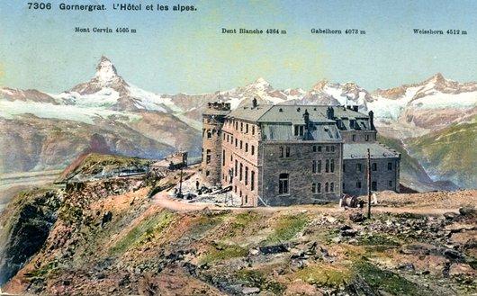 L'hôtel du Gornergrat