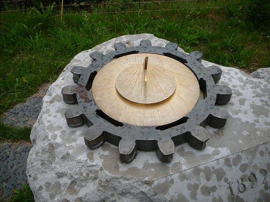 Cadran solaire de Caux