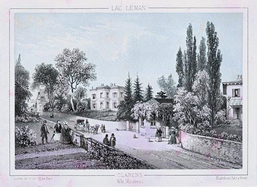 La Villa Mirabeau à Clarens
