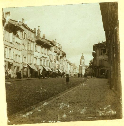 Grand-Rue Morges 1893