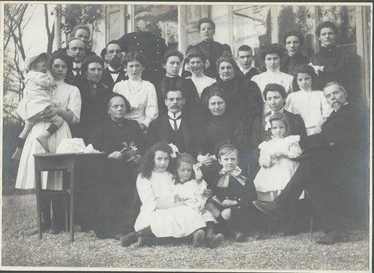 Groupe Mariage Georges Aud. Lydia Hof.-Aud.