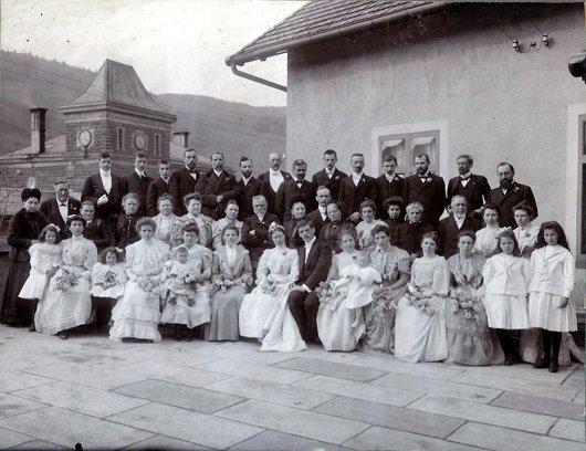 Groupe de mariage Audeoud Lydia Hof. William Aud.