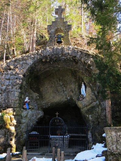 Grotte de Lourdes à Marbach