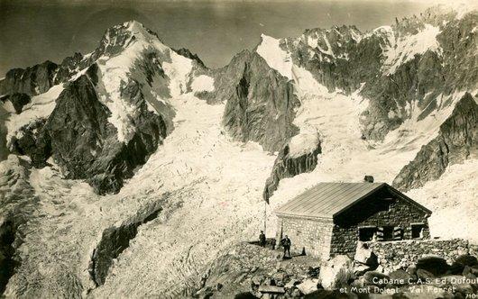 Cabane de l'A Neuve, Mont Dolent