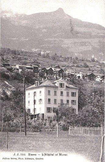 L'Asile de Sierre au début du XXème siècle