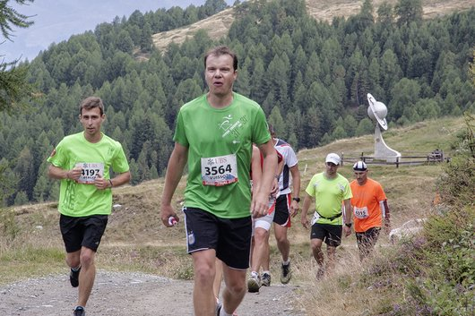 Course Sierre-Zinal 2015