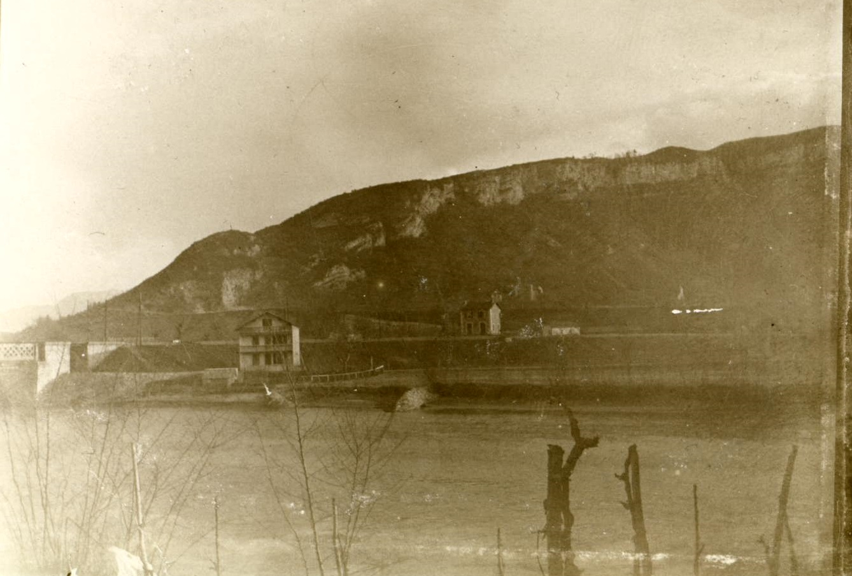 Pont d'Étrembières sur l'Arve