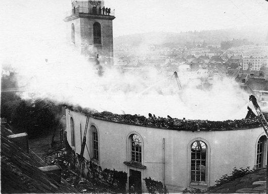 Incendie du Grand Temple